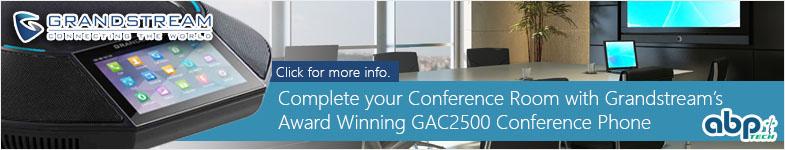 Grandstream's GAC2500 Award Winning Conference Phone