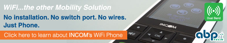 Click to learn about INCOM's WiFi Phone