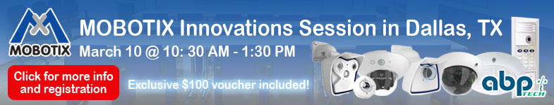 MOBOTIX Innovations Session