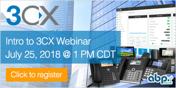 Intro to 3CX Webinar - July 25 @ 1:00 PM CDT