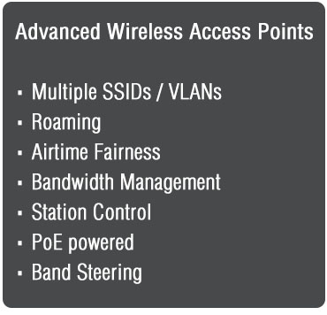 Advanced Wireless Access Points<br />