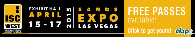 ISC West - April 15-17 @ Sands Expo, Las Vegas - Booth 32107