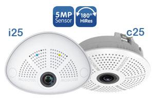 MOBOTIX Hemispheric IP Cameras - i25 and c25