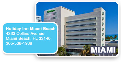 Miami - August 8-9
