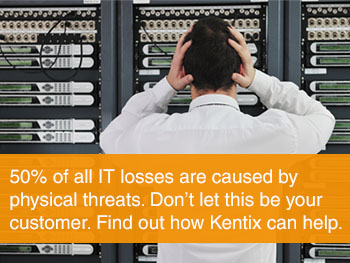 50% of all IT losses are caused by physical threats. Find out how Kentix can help