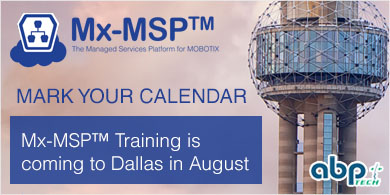 Mx-MSP™ Training coming to Dallas in July. Stay tuned!