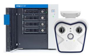 Overland SnapServer and MOBOTIX M15 IP Camera
