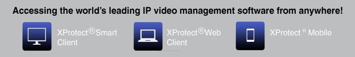 Milestone XProtect IP Video Surveillance Software